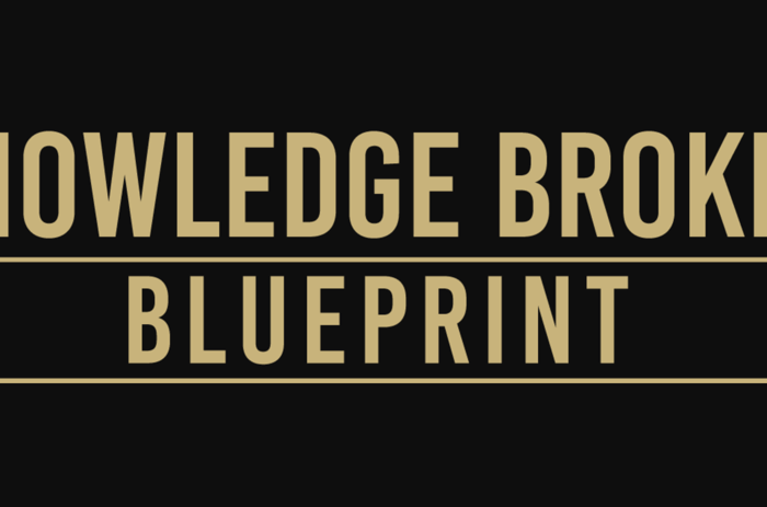 the Knowledge Broker Blueprint